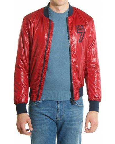 Красная куртка осенняя Iceberg
