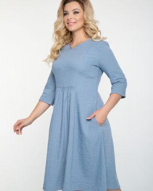 Платье платье-сарафан со складками тм леди агата