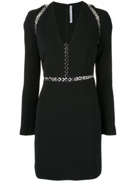 Платье на молнии с вырезом Alexander Wang