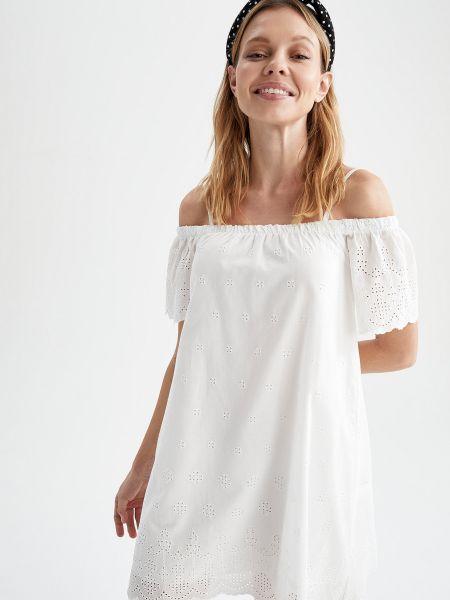 Белое платье Defacto