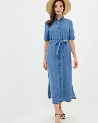 Синее джинсовое платье Incity