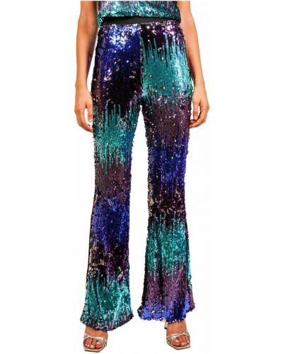 Fioletowe spodnie Hanita