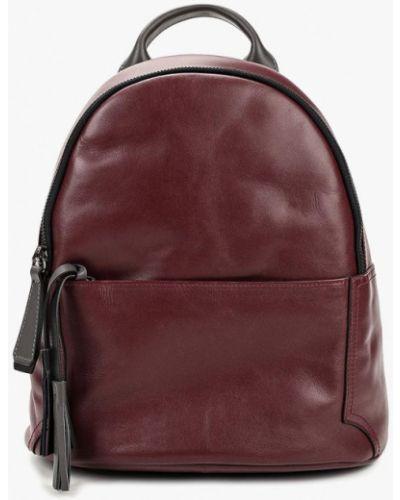 Кожаный рюкзак - бордовый Gianni Conti