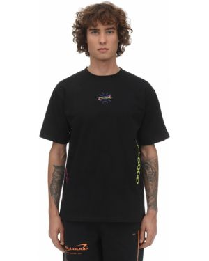 Czarny t-shirt bawełniany z printem Still Good