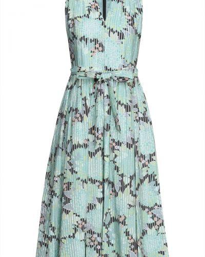 Текстильное платье миди мятное на крючках Kate Spade New York