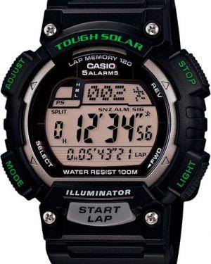 Кварцевые часы спортивные пластиковые Casio