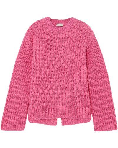 Шерстяной свитер - розовый By Malene Birger