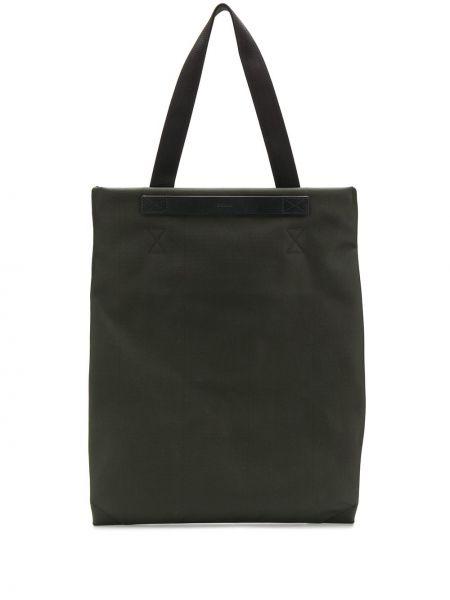 Нейлоновая кожаная сумка Mismo
