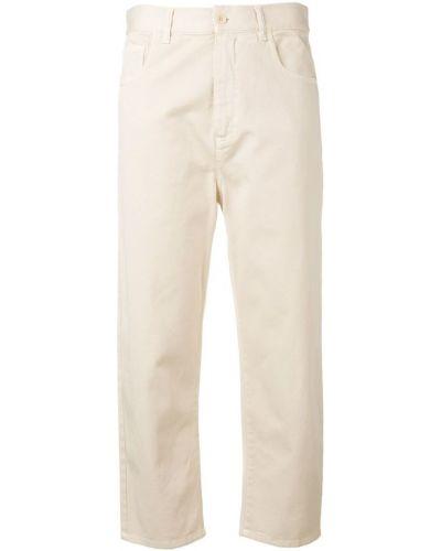 Укороченные джинсы бежевые Barena