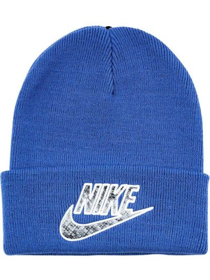 Niebieski kapelusz z akrylu Supreme