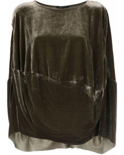 Блузка без рукавов зеленый Uma   Raquel Davidowicz