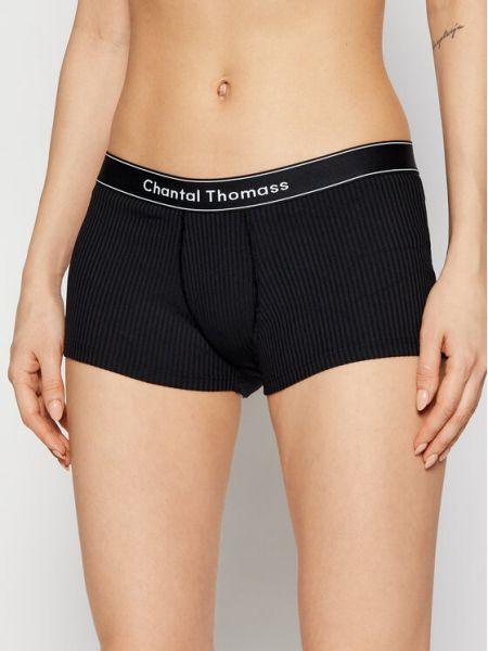 Czarne bokserki Chantal Thomass