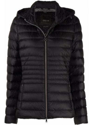 Дутая куртка - черная Geox