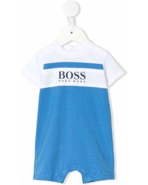 Комбинезон с логотипом круглый Boss Kids