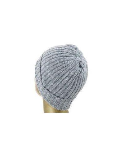 Голубая шапка кашемировая Fedeli
