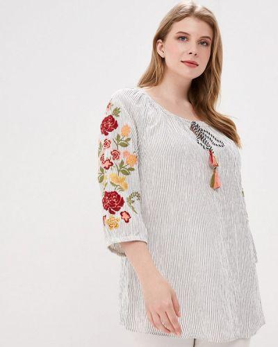 Блузка индийский бежевый Ulla Popken