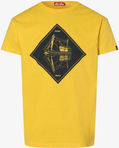 Żółta t-shirt Derbe