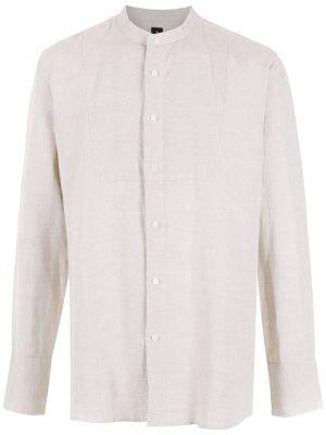 Biała koszula z długimi rękawami Osklen