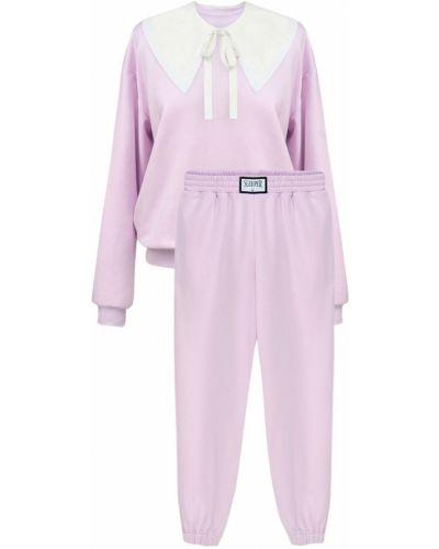 Różowy garnitur bawełniany Sleeper