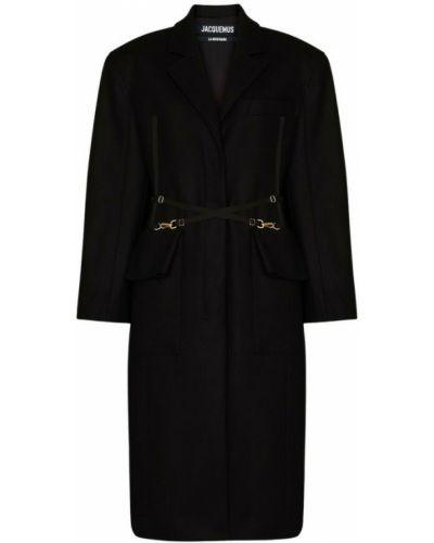 Płaszcz - czarny Jacquemus