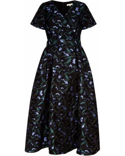 Платье миди коктейльное с поясом Akhmadullina Dreams