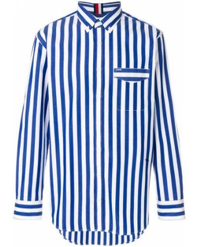 Рубашка в полоску хлопковая Tommy Hilfiger