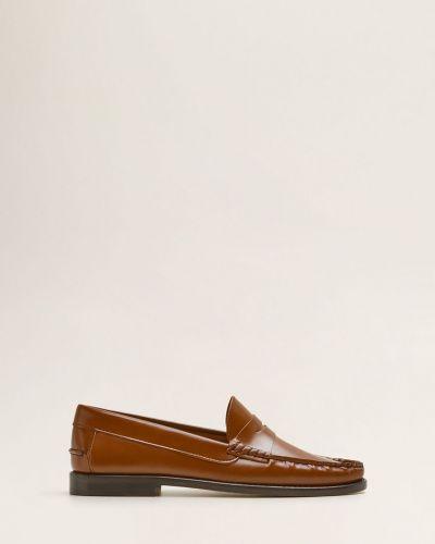 Кожаные туфли Mango Man