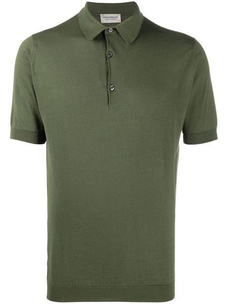 Koszula krótkie z krótkim rękawem klasyczna z mankietami John Smedley