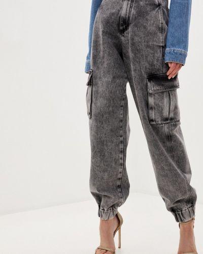 Серые джинсы Chiara Ferragni Collection