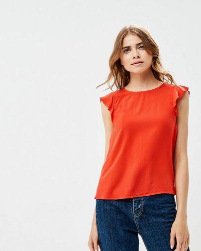 Блузка индийский красная Tom Tailor Denim