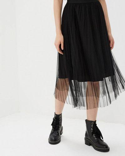 Черная юбка осенняя Paccio