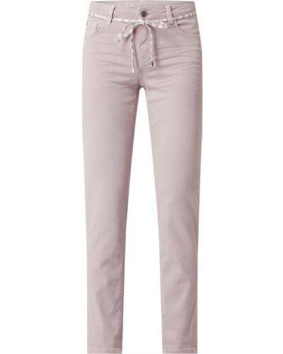 Beżowe jeansy bawełniane Rosner