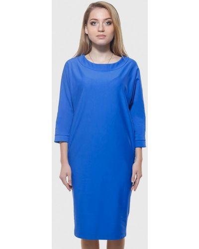 Повседневное платье весеннее синее Dasti