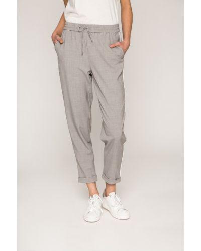 Свободные брюки серые с карманами Only