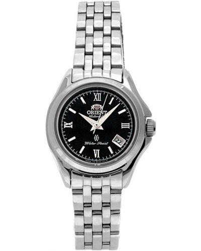 Водонепроницаемые часы черные серые Orient