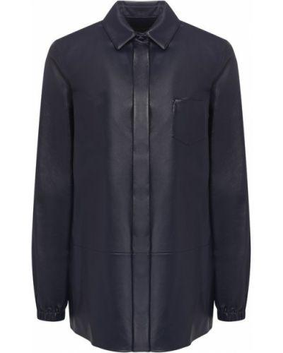 Рубашка кожаная Loro Piana