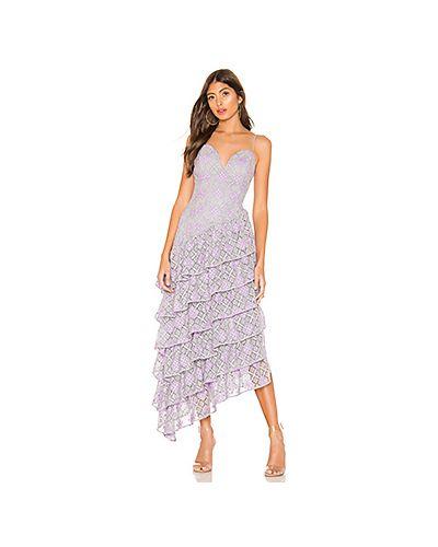 Вечернее платье с декольте на бретелях Majorelle