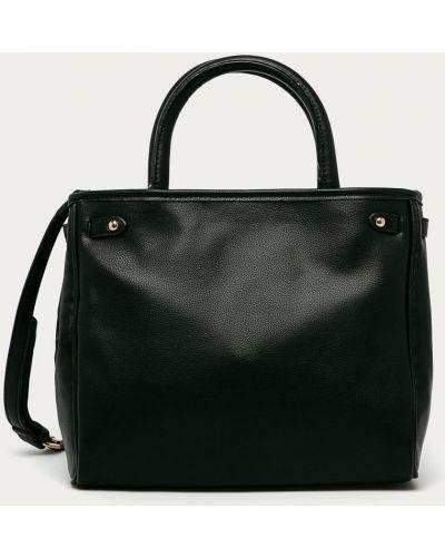 Czarna torba z krótkimi uchwytami Pieces