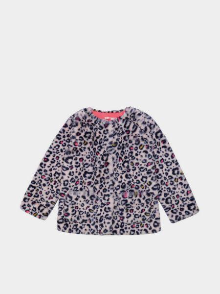 Шуба леопардовая - розовая Billieblush
