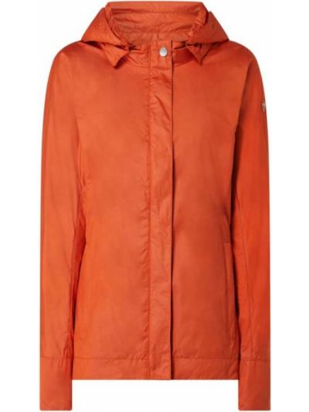 Pomarańczowa kurtka z kapturem Fuchs Schmitt
