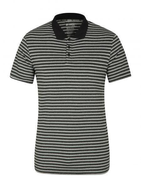 Czarny t-shirt materiałowy Mountain Warehouse