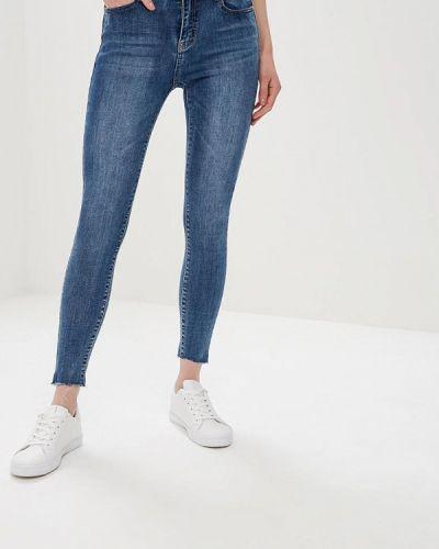 Зауженные джинсы - синие Adrixx