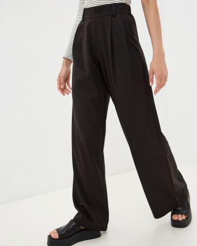 Черные повседневные брюки Moki