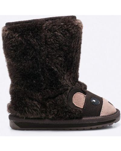 Buty ciemny brąz długo Emu Australia