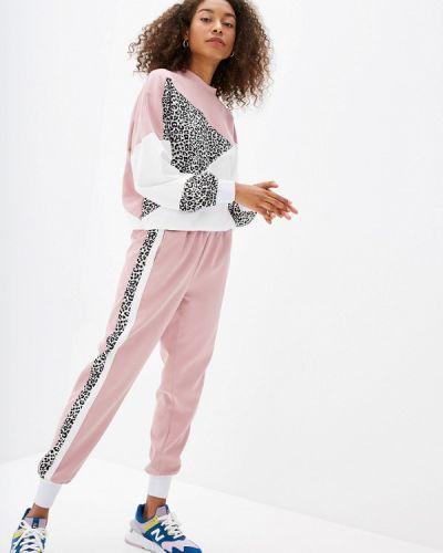 Брючный костюм розовый Fresh Cotton