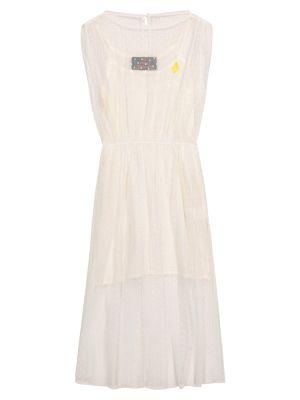 Biała sukienka mini tiulowa The Animals Observatory