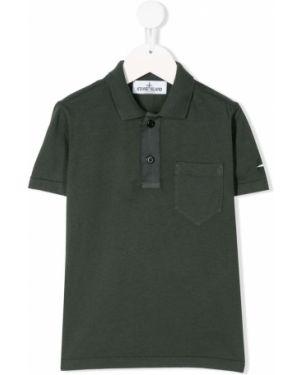 Рубашка зеленый Stone Island