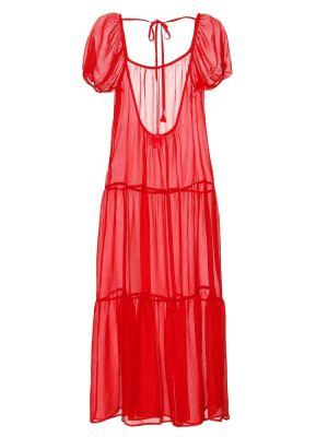 Платье миди в полоску пляжное Solid & Striped