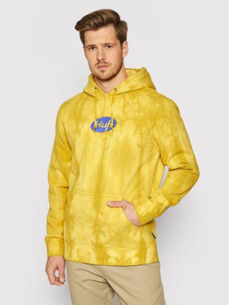 Żółta bluza Huf