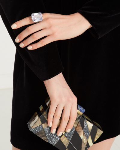 Кольцо с бриллиантом ажурный Rubynovich